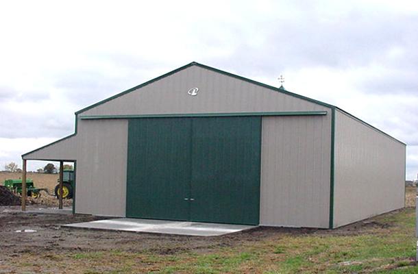 Osage City Ks Garage Hobby Shop Building Lester