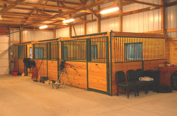 St Joseph Mo Stable Arena Building Lester Buildings