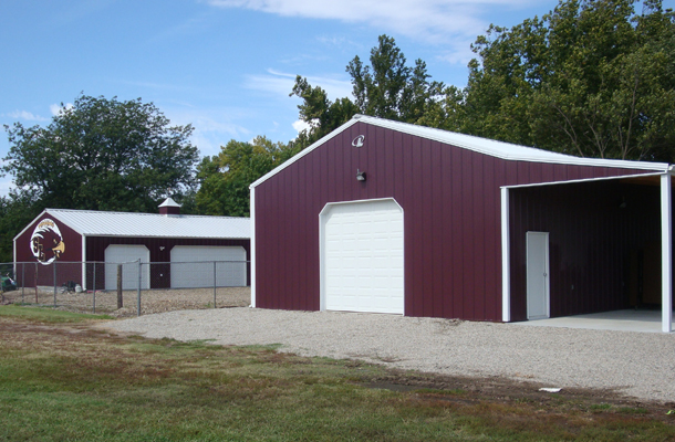 Silver Lake, KS, Concession Stand, K-Construction Inc., Lester Buildings
