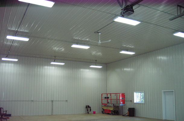 Montevideo MN, Ag Storage and Shop, Daryl Delzer, Lester Buildings