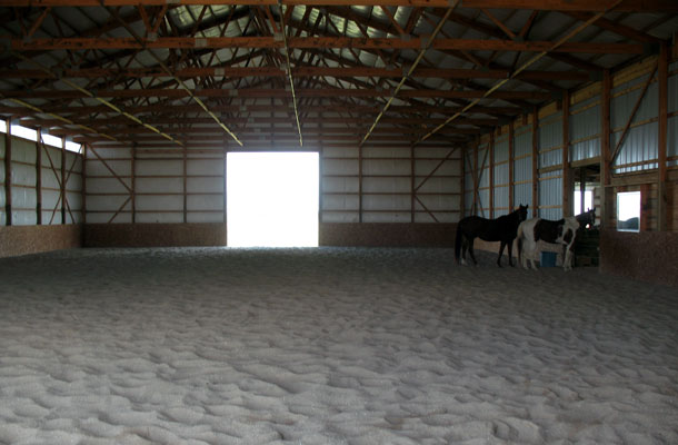 Wilmington IL, Stable and Arena, Ivan Hovden, Lester Buildings