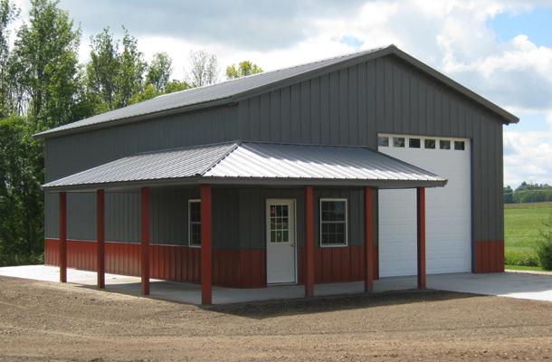 West Branch Mi Garage Building Lester Buildings