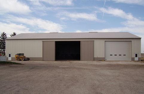 Washington Ia Ag Storage Shop Building Lester Buildings Project 511480