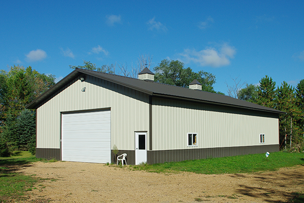 New Germany MN, Ag Storage, Ron Foust, Lester Buildings