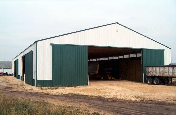 Kirkland, IL   Ag Storage/Shop Building   Lester Buildings Project: 215245