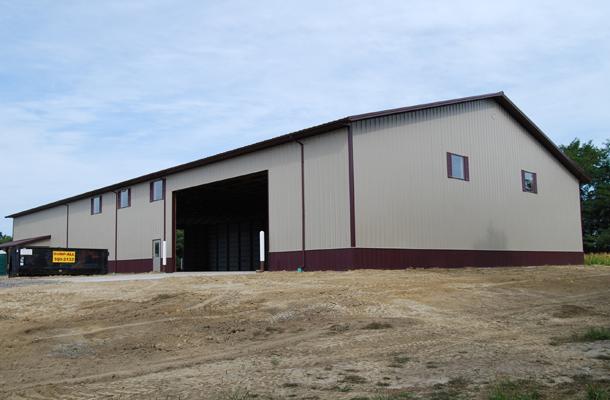 Clarkson Ne Ag Storage Shop Building Lester Buildings
