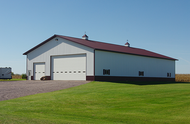 Hutchinson MN, Ag Storage, Ron Foust, Lester Buildings