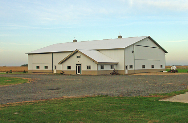 Hector MN, Ag Storage and Office, Ron Foust, Lester Buildings
