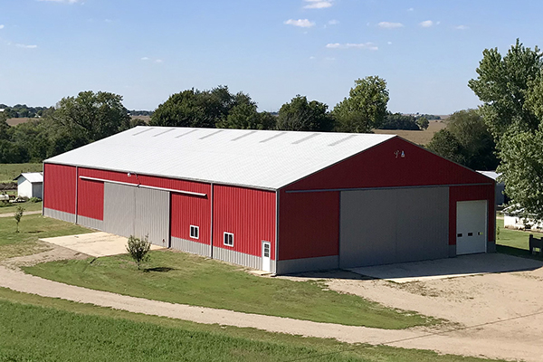 Dulap, IL - Ag Storage/Shop Building - Lester Buildings
