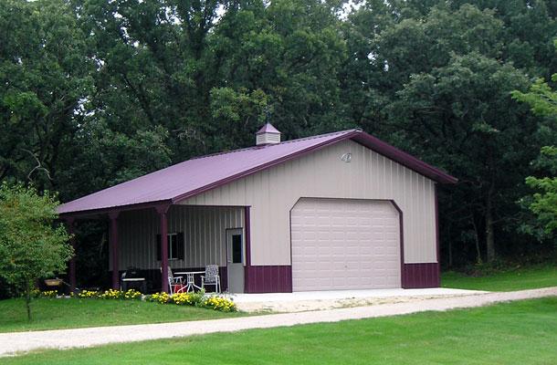 Ridgeway Ia Garage Building Lester Buildings Project