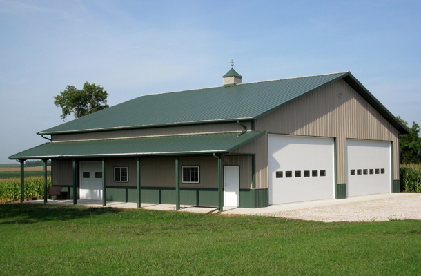 Schaller, IA, Garage, Tom Witt Contractor Inc., Lester Buildings