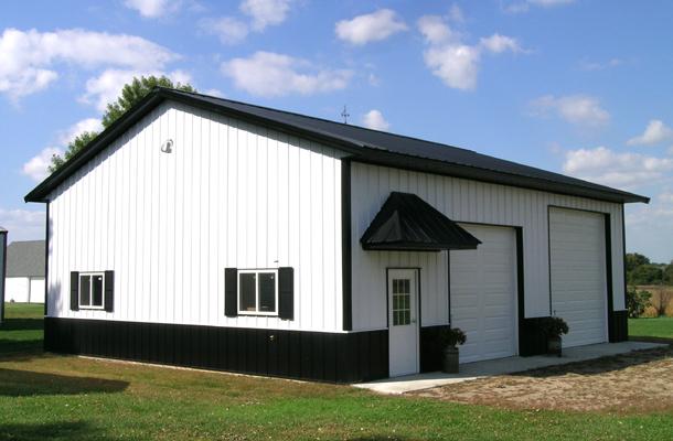 Lester Praire Mn Garage Building Lester Buildings
