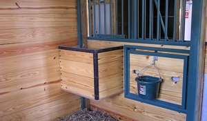 Horse Barns - Horse Stables & Barns with Living Quarters - Lester