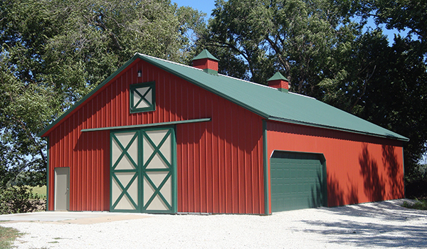 Pole Barn Building Picture