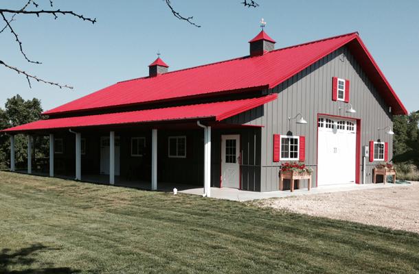Kansas Pole Barns Pole Barn Builders Lester Buildings