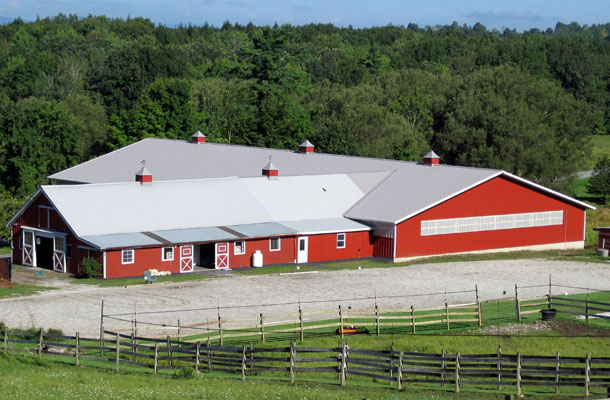 Horse Arena - Pole Barns Vermont