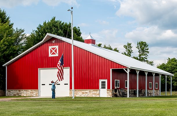Hobby Building - Pole Barns Wisconsin
