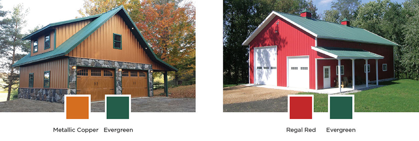 Pole Barn Colors Exterior Siding Windows Amp Doors