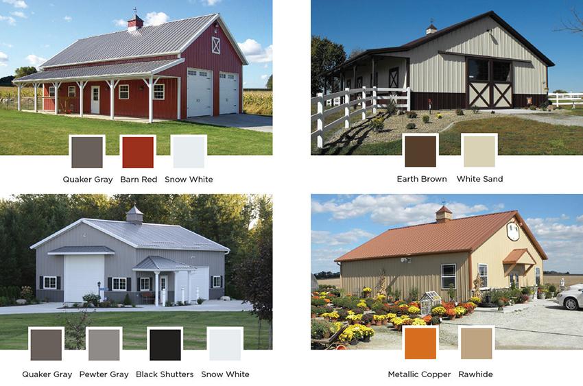 Pole Barn Colors