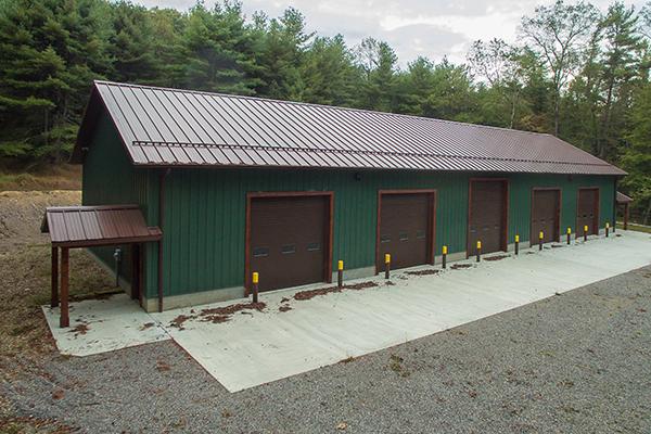 Shippenville Pa Garage Building Lester Buildings