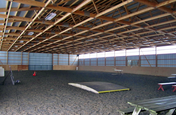 Bergen, NY, Personal Arena, Getterr Done Construction Inc., Lester Buildings