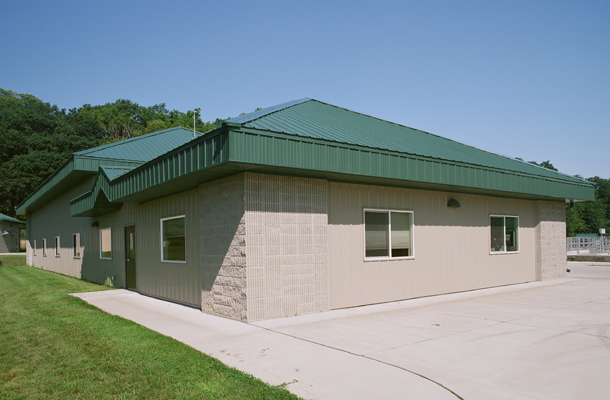 Eldora IA, Wastewater Treatment Plant, K-Van Construction Company Inc., Lester Buildings