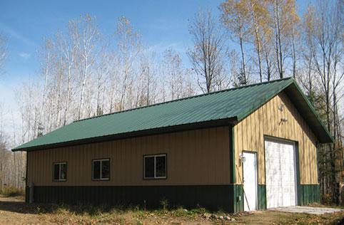 Buffalo Mn Garage Building Lester Buildings Project