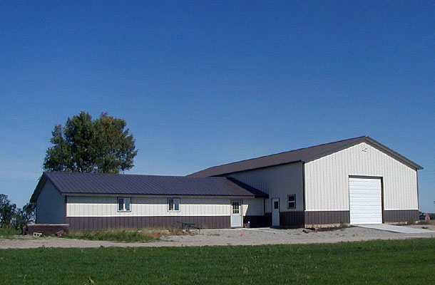 Beau Leland IA, Ag Storage And Shop, Freebornu0027s Pride Builders Inc., Lester  Buildings