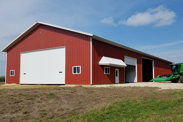 Nerstrand MN, Ag Shop and Storage, Corey Larsen, Lester Buildings