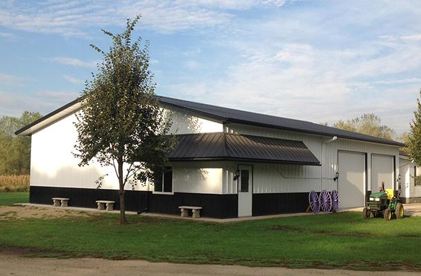 Alden Ia Garage Hobby Shop Building Lester Buildings