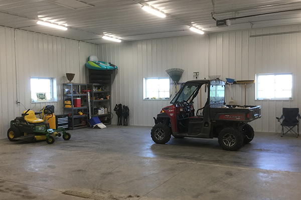 Lake View IA, Hobby Shop, Man Cave, Tom Witt Contractor Inc., Lester Buildings