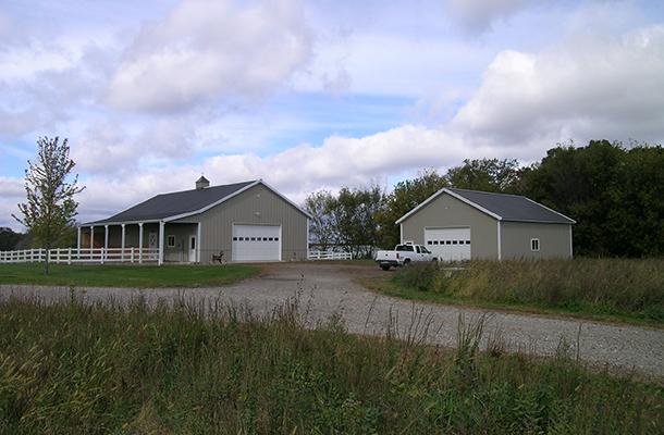 Monticello Mn Garage Building Lester Buildings