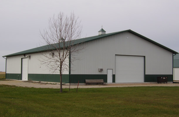 Thornton IA, Office Building, K-Van Construction Inc., Lester Buildings