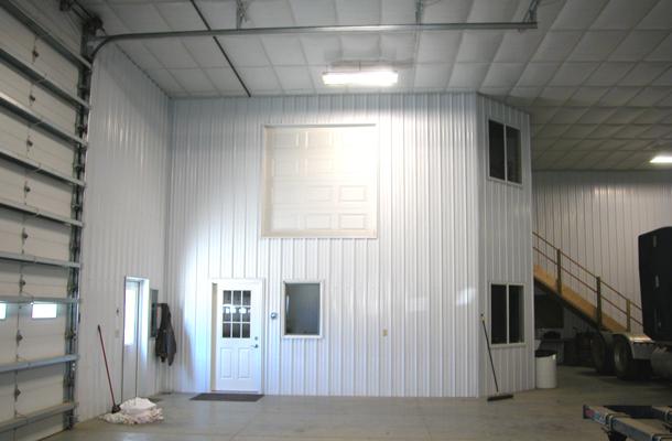 Hooper Ne Ag Storage Shop Building Lester Buildings