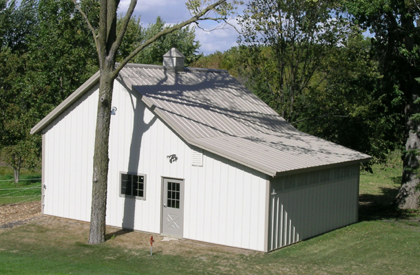 Waconia, MN, Horse Stable, Ron Foust, Lester Buildings