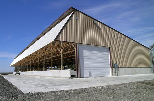 Stewart Mn Dairy Calf Housing Building Lester