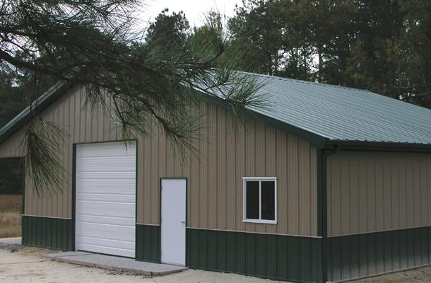 Suffolk Va Garage Building Lester Buildings Project