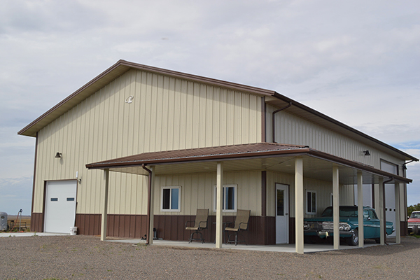 Gothenburg, NE - Garage Building - Lester Buildings Project