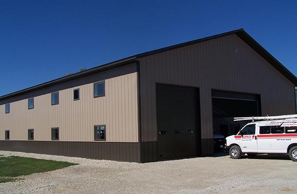 Stewartville Mn Ag Storage Shop Building Lester
