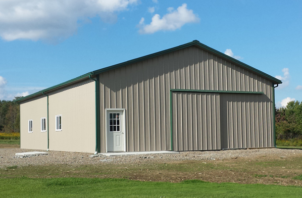 Holland, NY, Ag Storage, Getterr Done Construction Inc., Lester Buildings