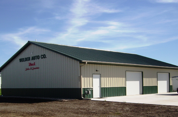 Iowa falls ia hobby shop building lester buildings for Cost to build a house in iowa