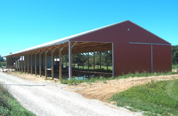 Sandwich Il Beef Cattle Building Lester Buildings