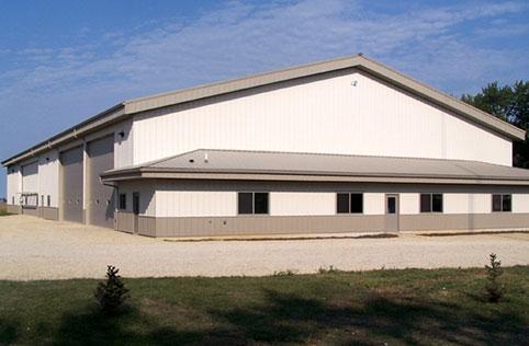 Glencoe Mn Ag Storage Shop Building Lester Buildings
