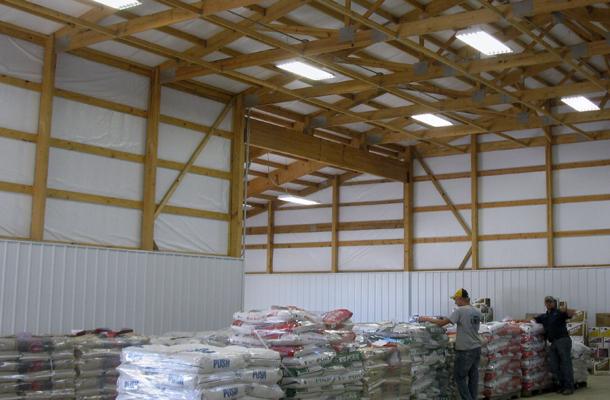 Alta Ia Grain Crop Storage Building Lester Buildings