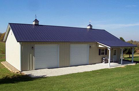 Lester Prairie Mn Garage Building Lester Buildings