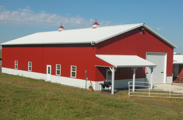 Craig Ne Beef Cattle Building Lester Buildings