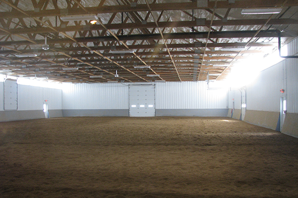 Frankfort IL, horse stable and arena for Sojourn Therapeutic Riding Center, Andrew Johnstone, Lester Buildings