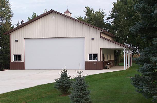 Austin Mn Garage Building Lester Buildings Project