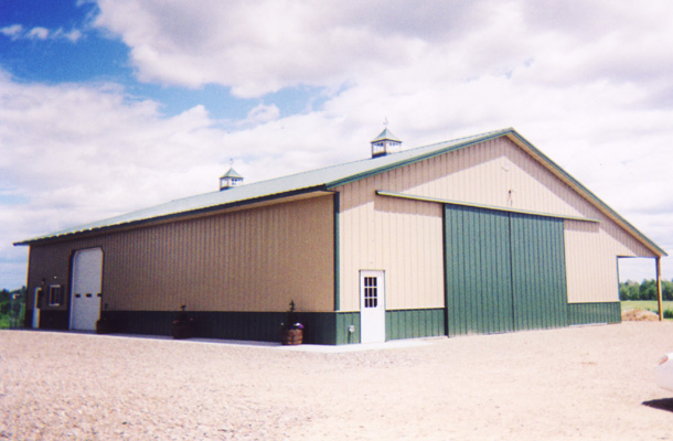 Stanchfield Mn Ag Storage Building Lester Buildings