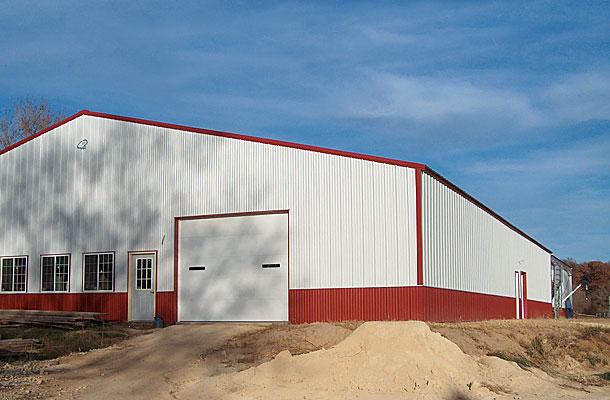 Durand Il Arena Building Lester Buildings Project 213607